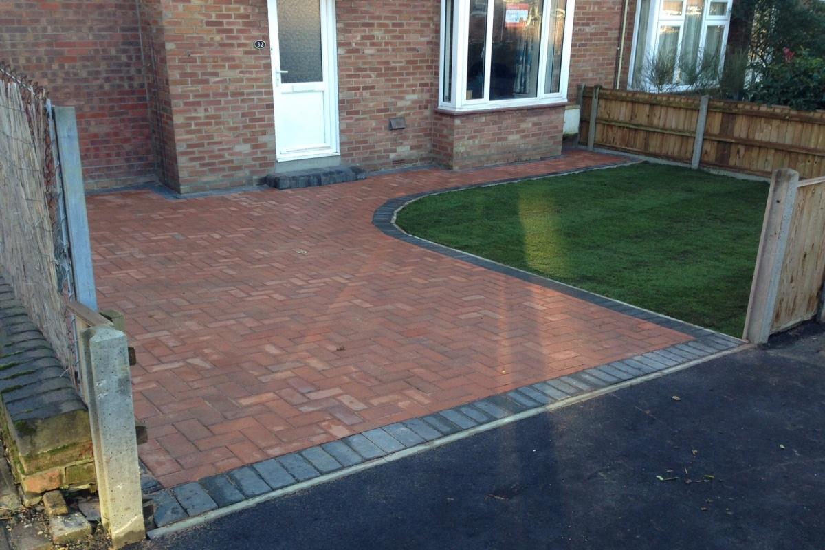 Brickweave-and-turf